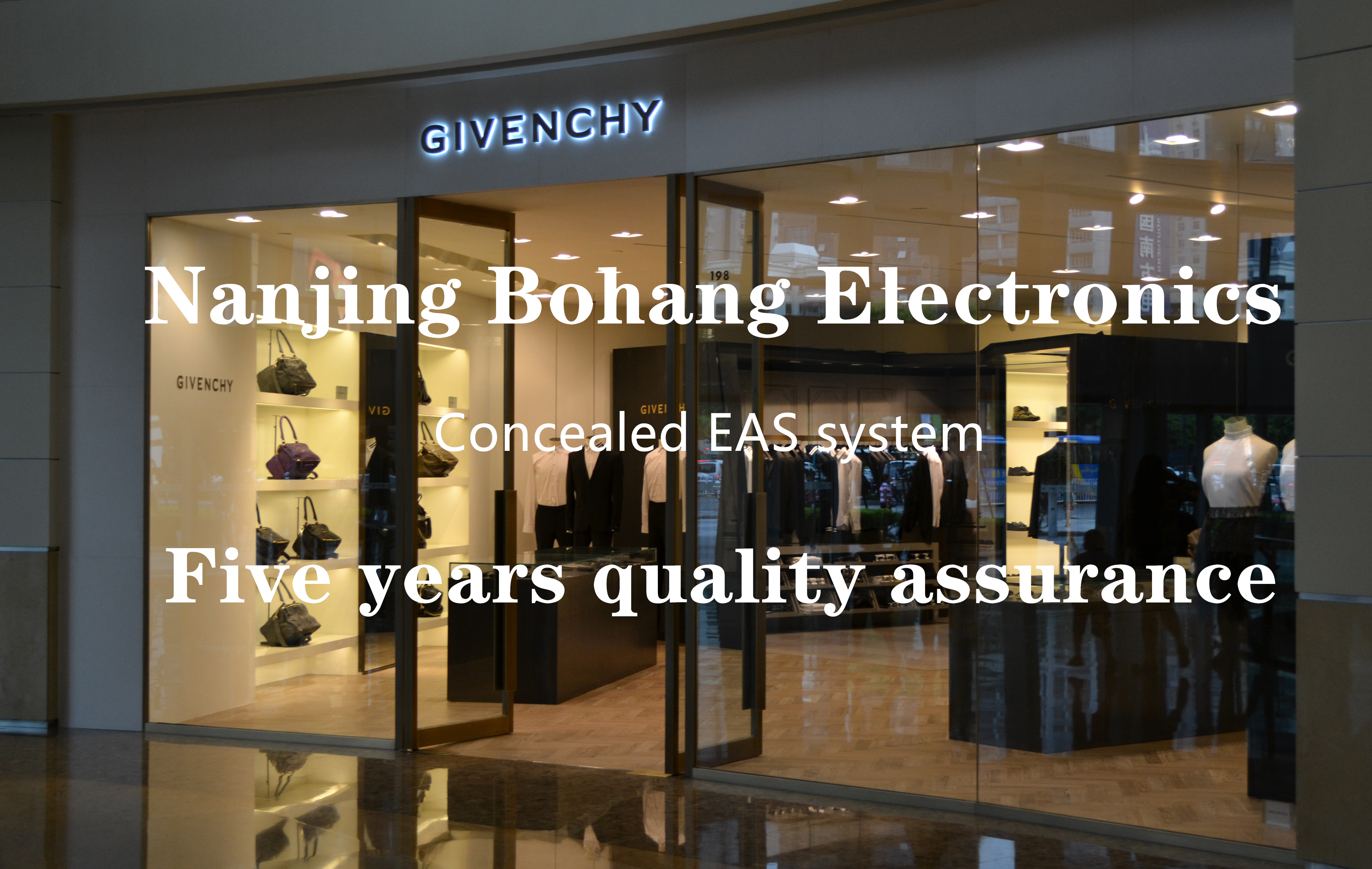 Bohang clothing anti-theft alarm system