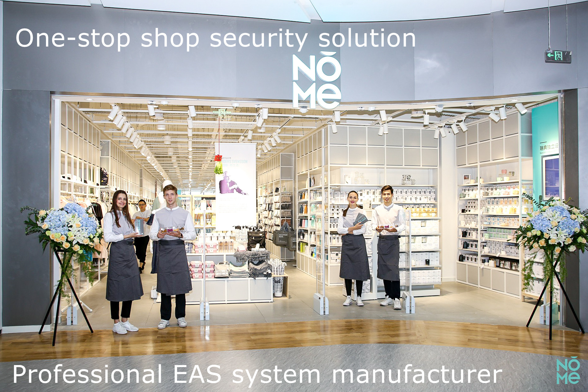 Bohang supermarket anti-theft eas security system