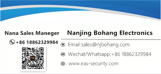 Bohang supermarket anti-theft eas security hard tag